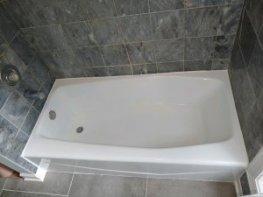Barrington bathtub refinished white